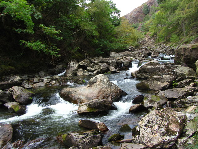 Glaslyn River in the Pass of Aberglaslyn