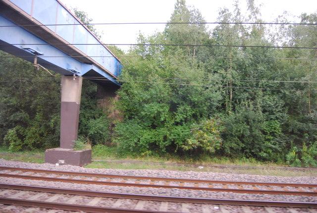Footbridge over the ECML