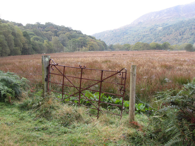 Old field gate near Nantmor
