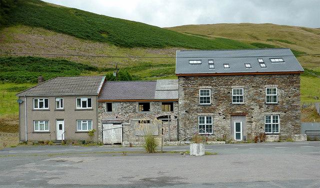 Dyffryn Castell Hotel (closed) near Ponterwyd, Ceredigion