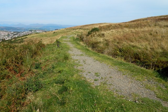 Path beside the Greenock Cut