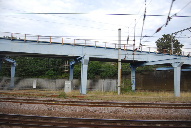 Railway bridge, Hornsey Rail Depot