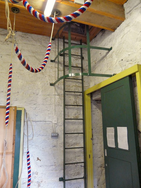 Ladder in the Ringing Room