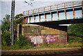 TQ2990 : Bridge over the ECML by N Chadwick