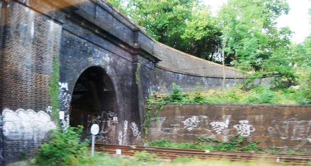 Tunnel entrance ECML