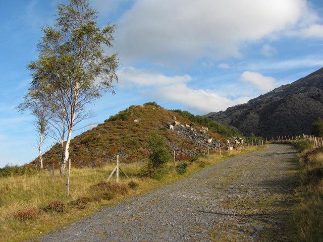 Path through Dinorwic Quarry