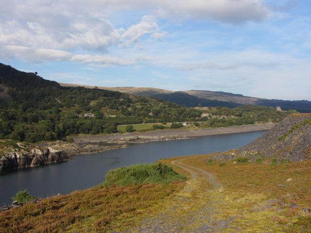 Llyn Peris from Dinorwic Quarry
