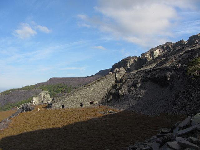 C2 incline at Dinorwic Quarry