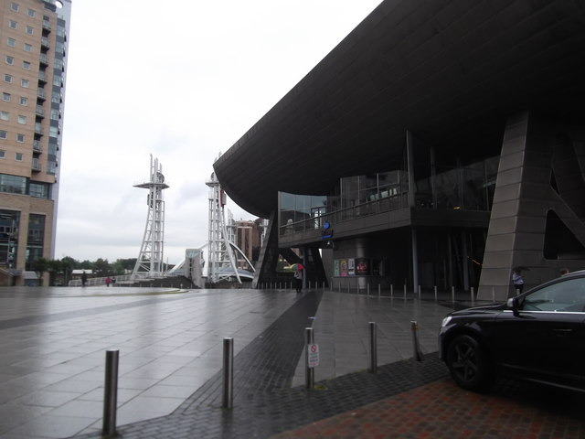 Entrance to the Lowry, Salford Quays