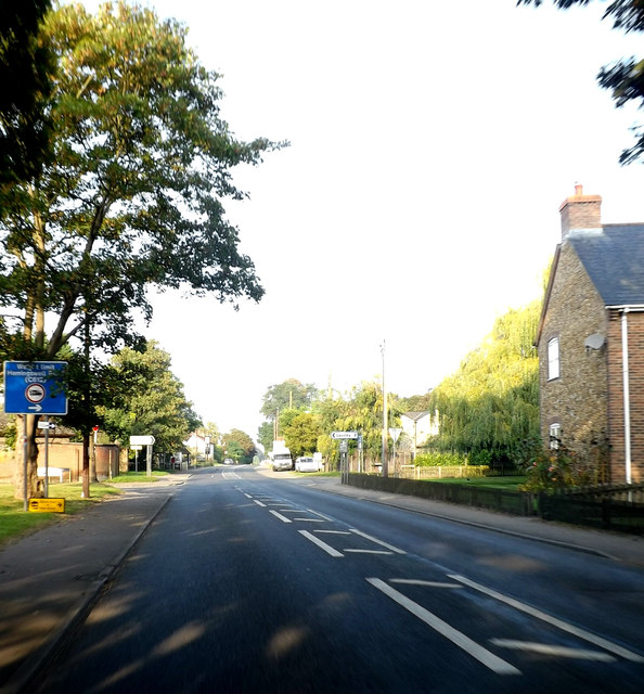 B1506 Bury Road, Kentford