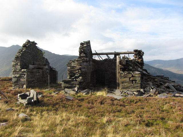 C3 incline drum house, Dinorwic Quarry
