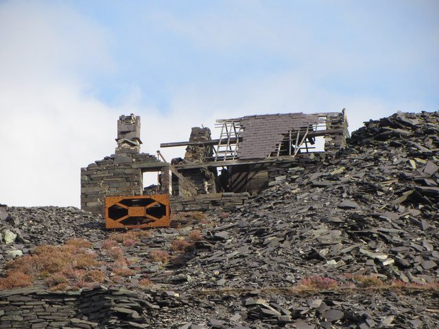 Incline and drum house, Dinorwic Quarry