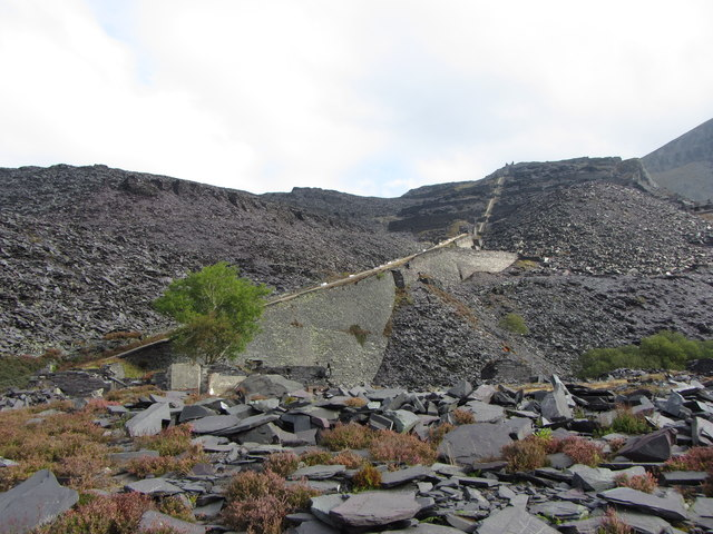 A5, A6 and A7 inclines, Dinorwic Quarry