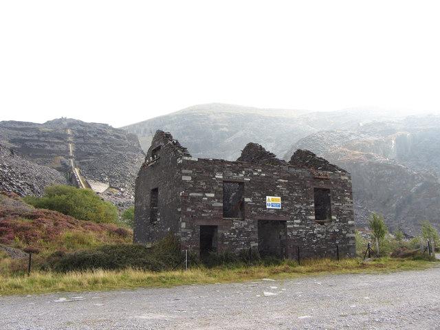 Compressor plant in Dinorwic Quarry