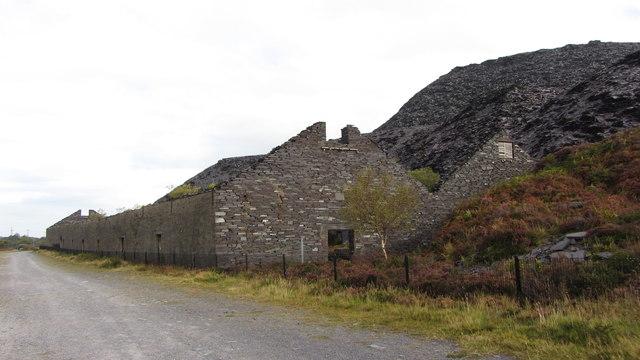 Mills in Dinorwic Quarry