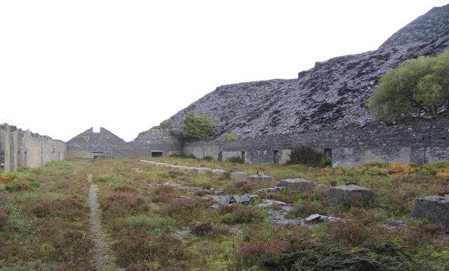 Slate mills, Dinorwic Quarry