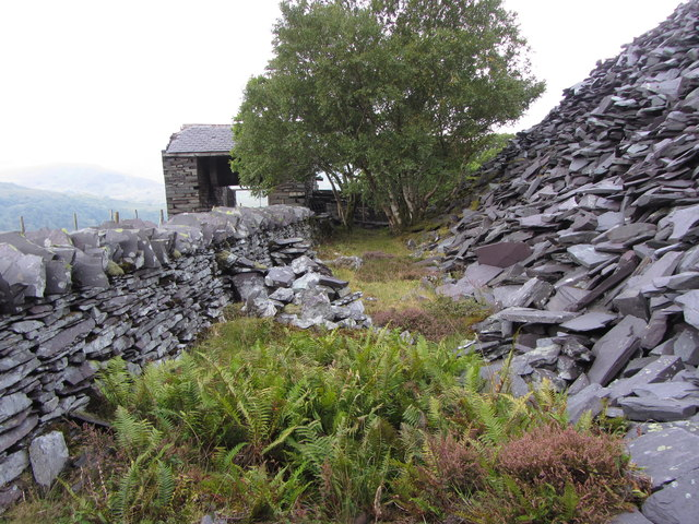 By the A3 incline drum house, Dinorwic Quarry
