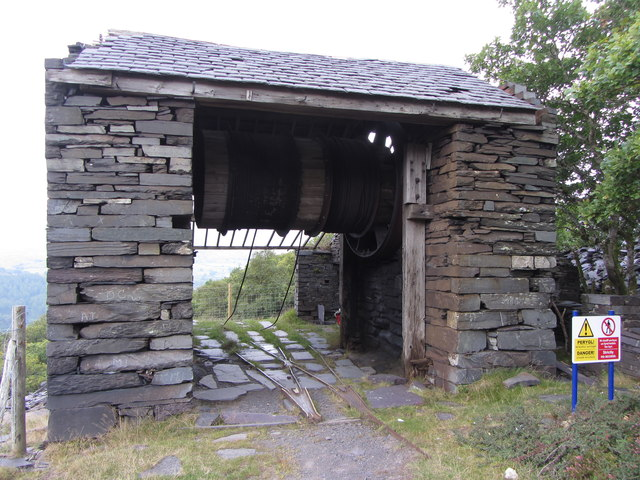 A3 incline drum house, Dinorwic Quarry