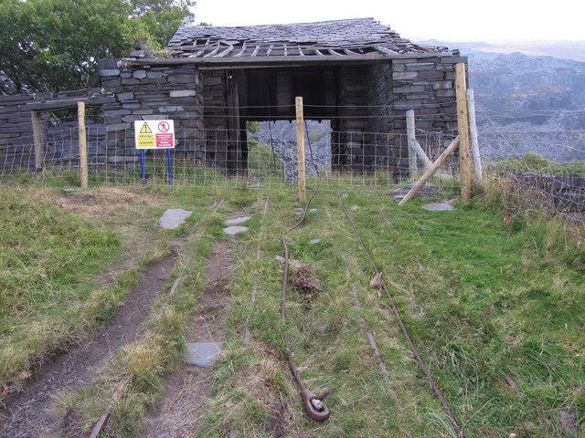 A3 incline drum house, Dinorwic Quarry