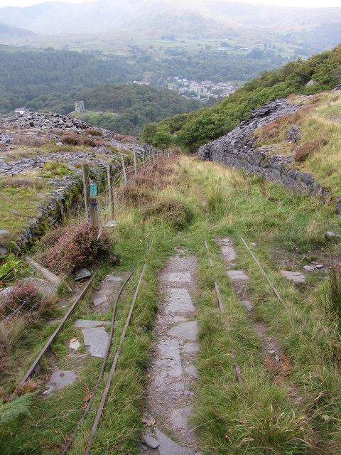 A3 incline, Dinorwic Quarry