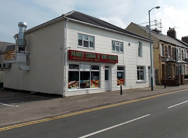 Family Kebab & BBQ House, Old Cwmbran