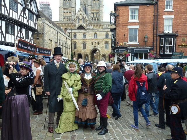 Steampunk festival in Lincoln 2014 - Photo 21