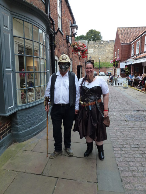 Steampunk festival in Lincoln 2014 - Photo 23