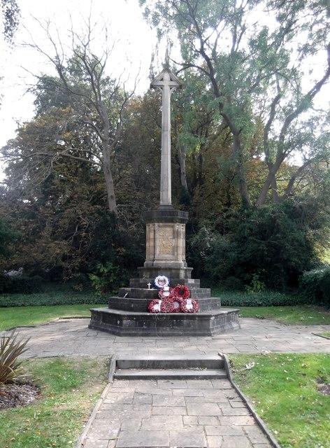 War memorial, Tyburn Lane, Harrow