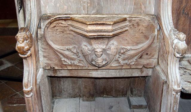 St Botolph, Trunch - Misericord
