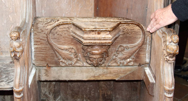 St Botolph, Trunch - Misericord