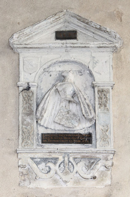 St Botolph, Trunch - Wall monument