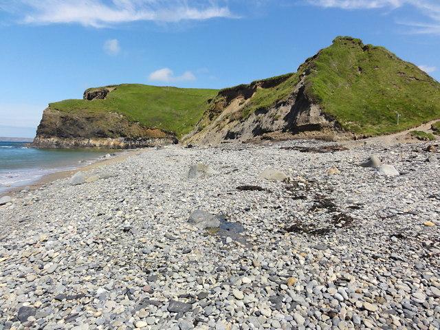 The Beach at Druidston Haven