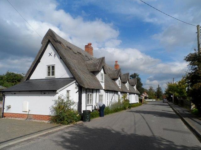 Seventeenth century cottages, Tattingstone