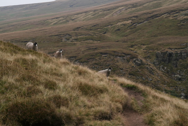 Kings of the Castles, next to the Pennine Way