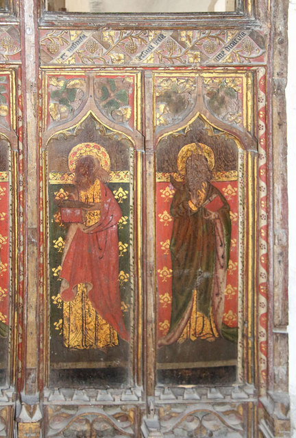 St Botolph, Trunch - Screen