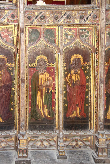 St Botolph, Trunch - Screen