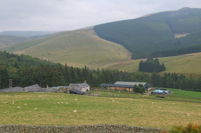 Lee farm, Leithen Water valley