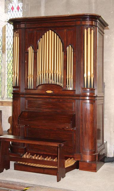 St Botolph, Trunch - Chamber organ