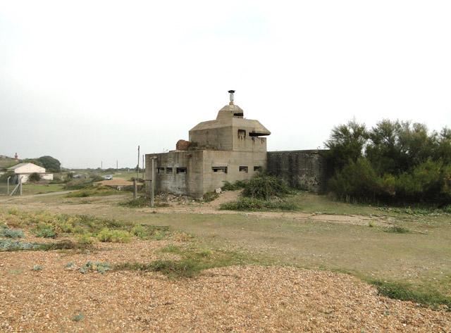 The XDO blockhouse at Landguard
