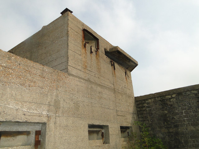 Upper storey of the XDO blockhouse