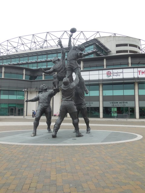 Line-out Sculpture, Twickenham