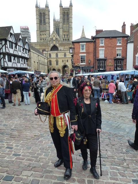 Steampunk festival in Lincoln 2014 - Photo 31
