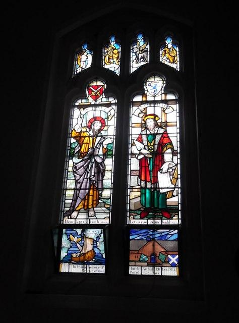 Window, St Margaret of Antioch, Station Road, Edgware