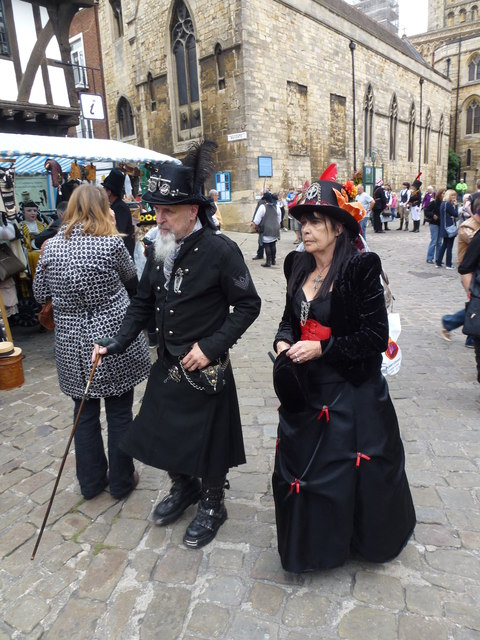 Steampunk festival in Lincoln 2014 - Photo 33