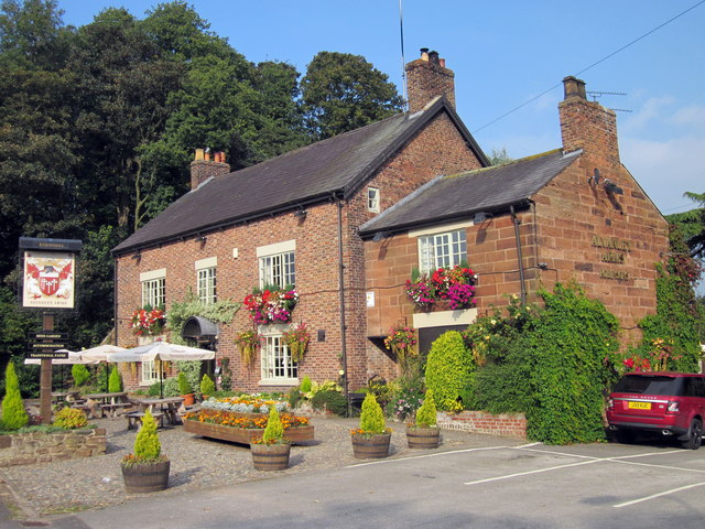 The Alvanley Arms, Cotebrook