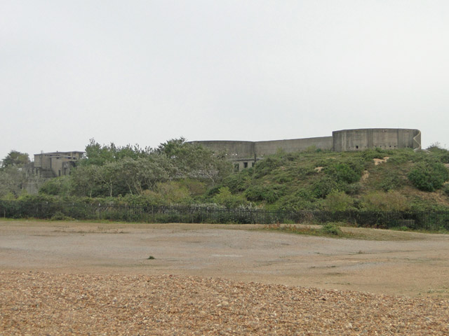 The Right Battery at Landguard