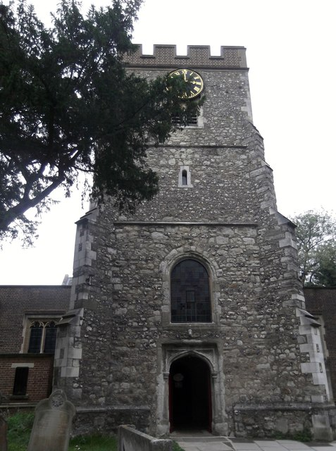 Tower, St Margaret of Antioch, Station Road, Edgware
