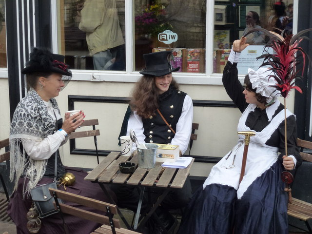 Steampunk festival in Lincoln 2014 - Photo 34
