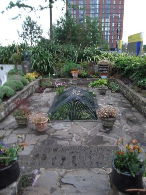 The Blue Peter Garden at Media City