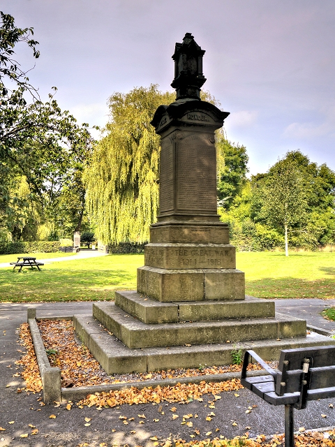 The War Memorial in Clayton Park